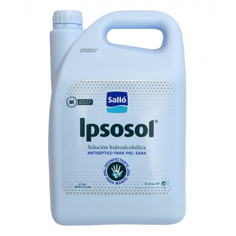 Loción de gel Hidroalcohólico Ipsosol garrafa 5 L