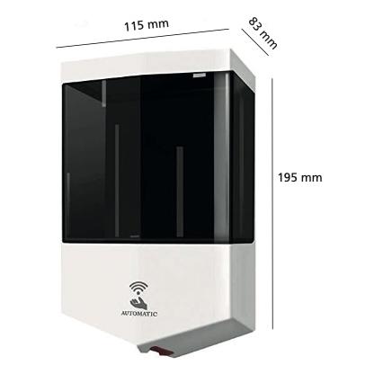 Dispensador de gel de pared con sensor eléctrico