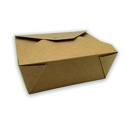 Caja Take Away Kraft Ecológica Interior Parafinado